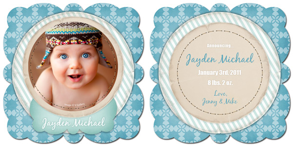 Free Boutique Card Templates from Focused by WHCC